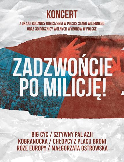Zadzwońcie po milicję - Koncert Poznań