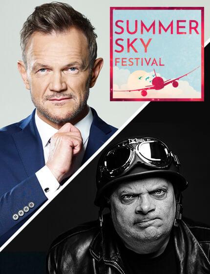 Cezary Pazura, Krzysztof Skiba - Summer Sky Festival